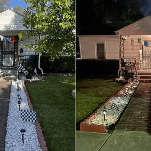 Indianapolis 500 porch party decorations