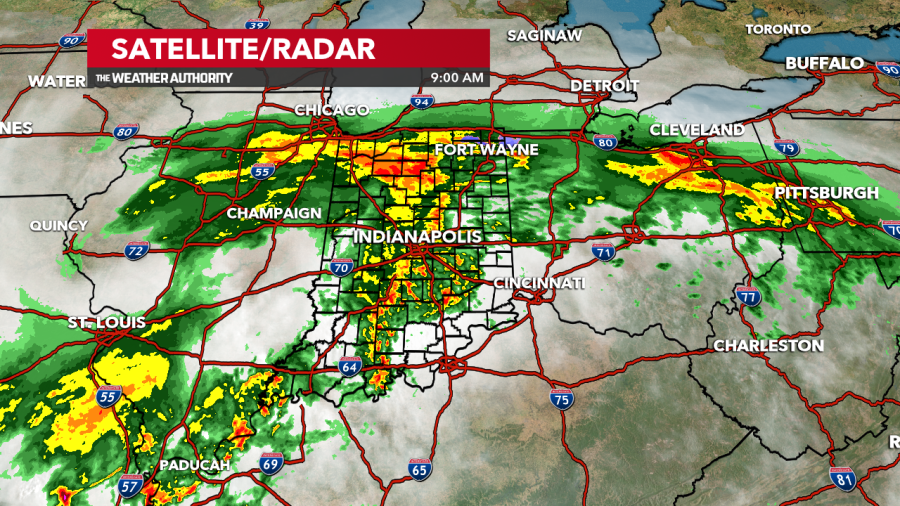 Tracking heavy rain, thunderstorms for Mother's Day