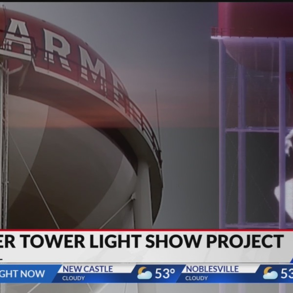 Carmel Water Tower Light Show Project Moves Forward