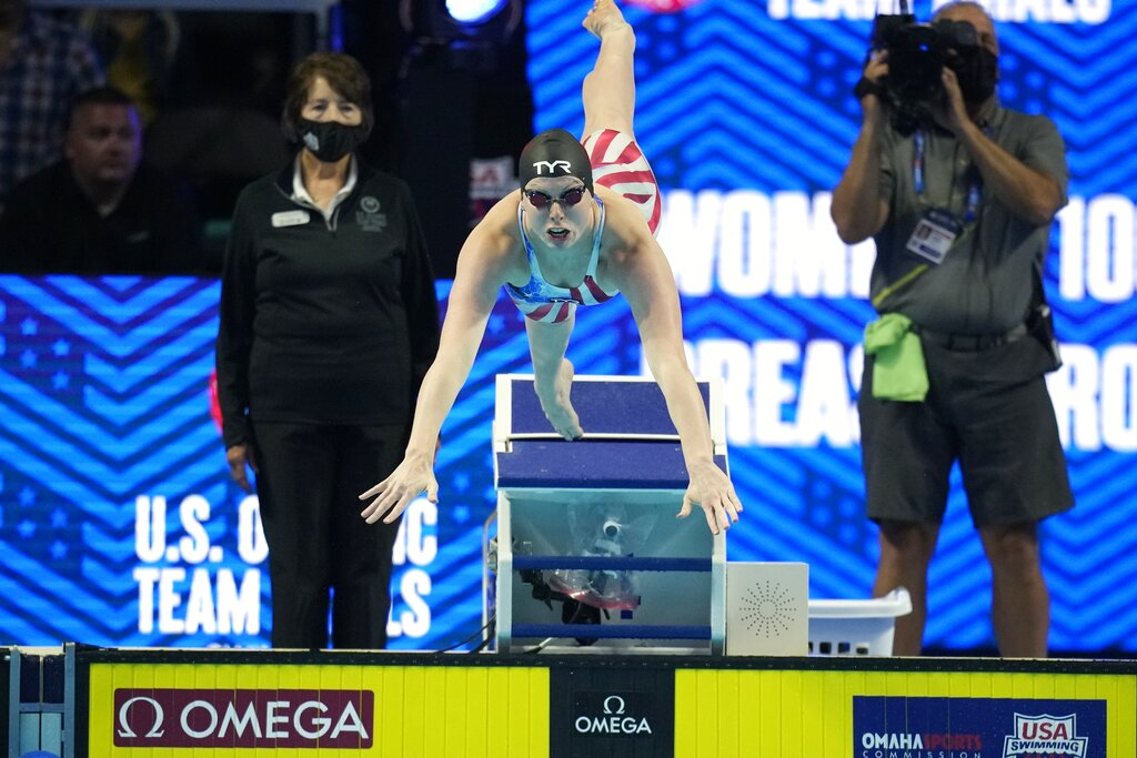 Indiana swimmer is headed to the Olympics