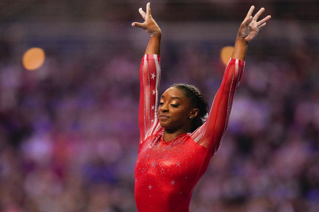 Biles heads US Olympic team