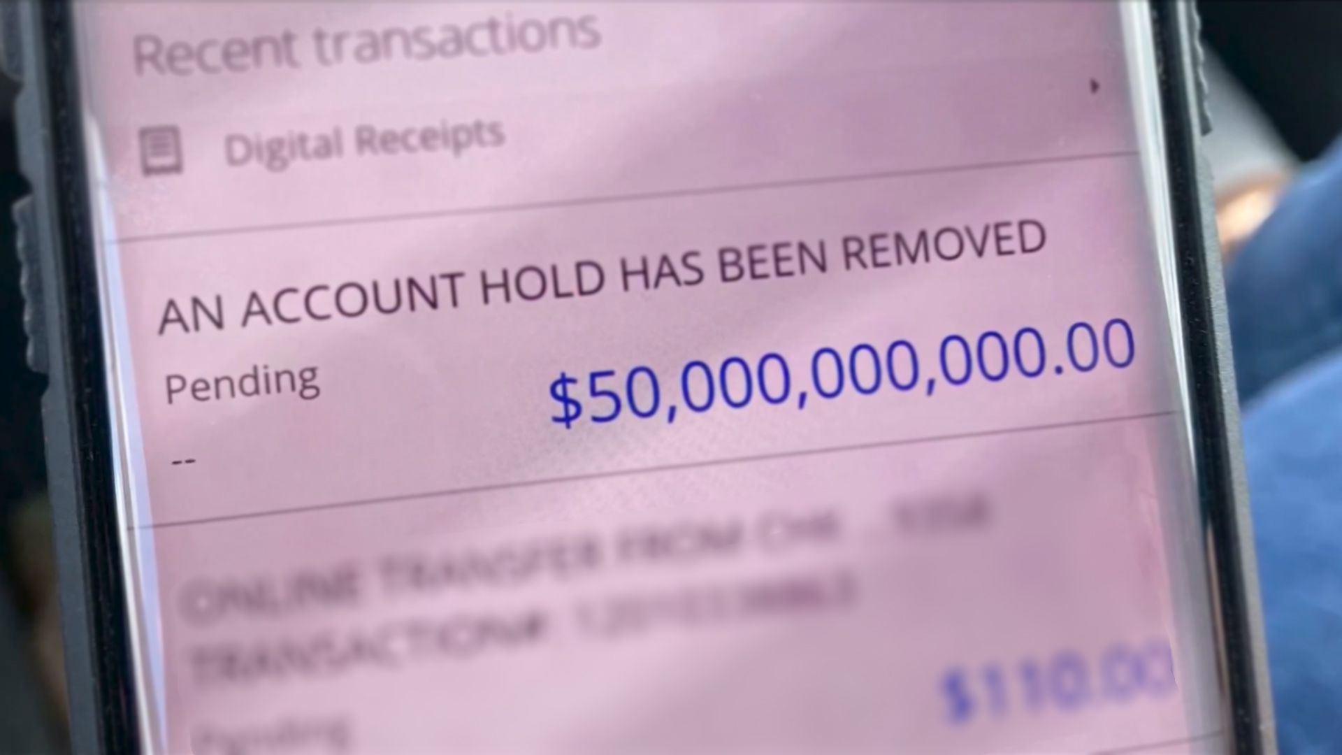 BRPROUD | Money Madness: $50 billion mistakenly deposited into Baton Rouge  family's bank account