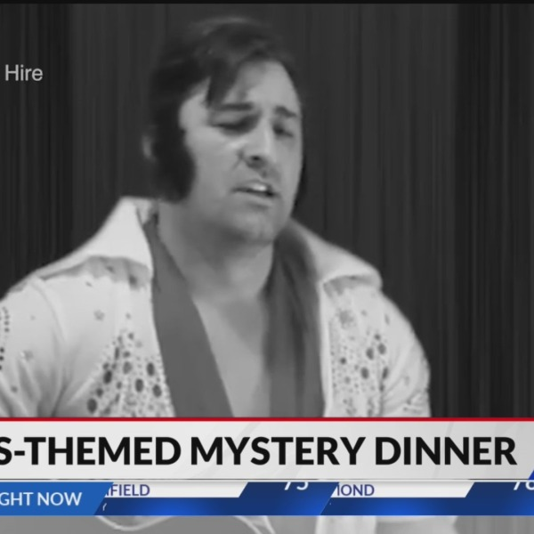 Elvis mystery dinner in Indianapolis