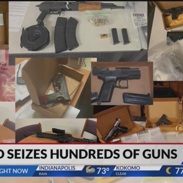 Indianapolis violent crimes unit takes guns off the streets
