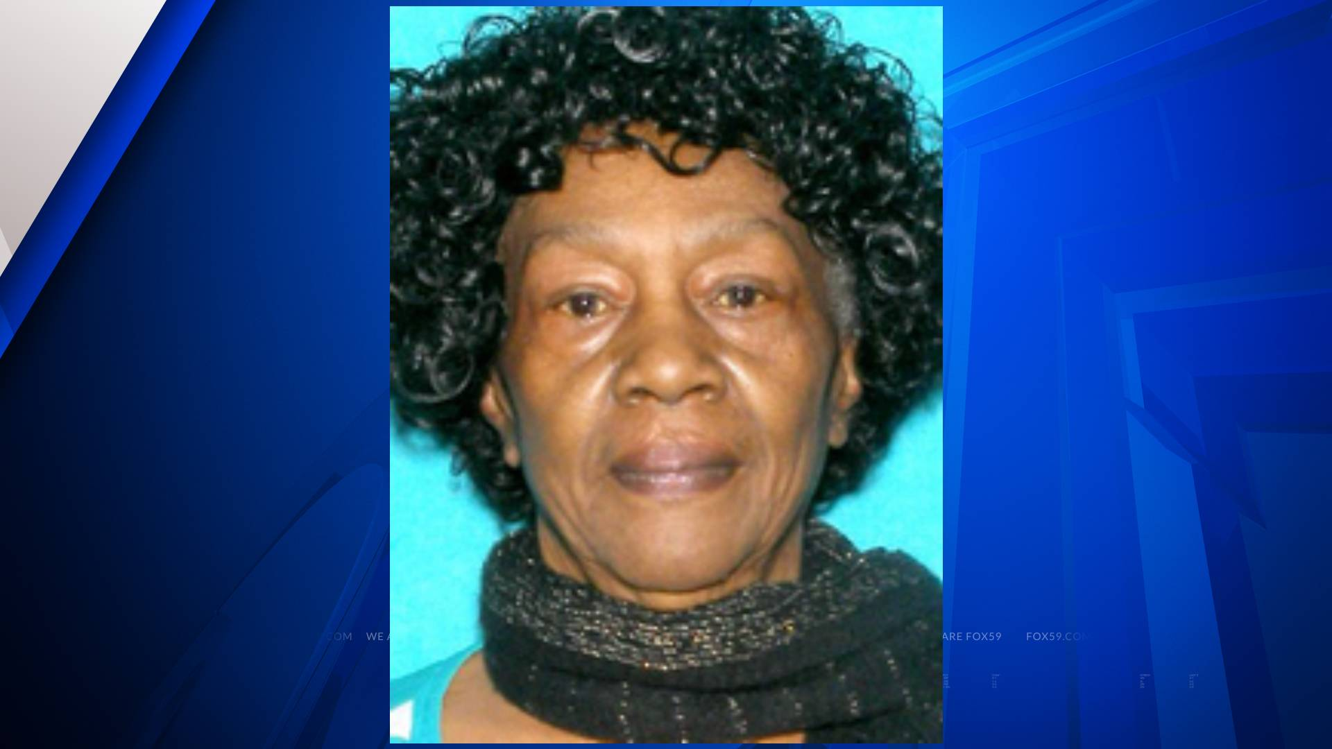 Missing woman Indianapolis