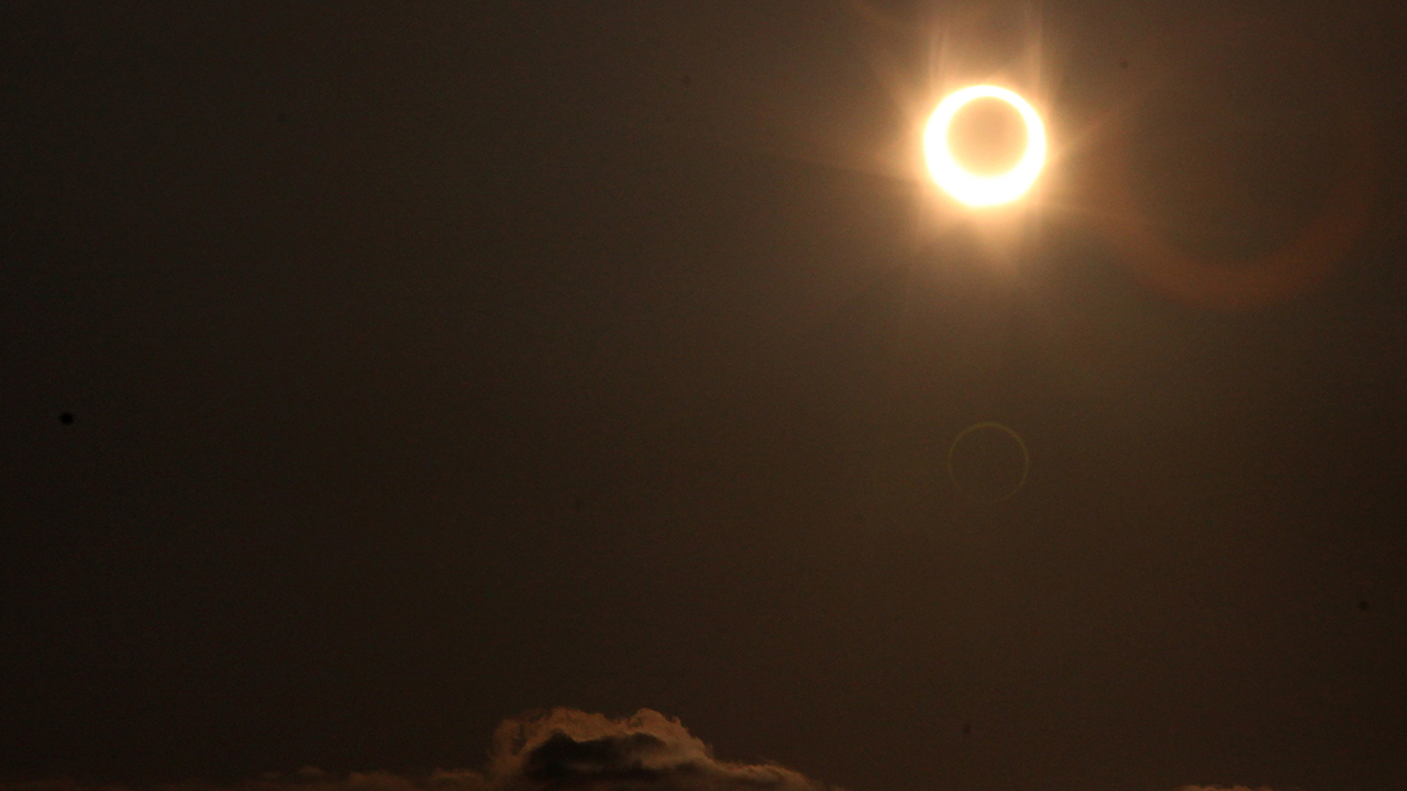 Ring of fire solar esclipse