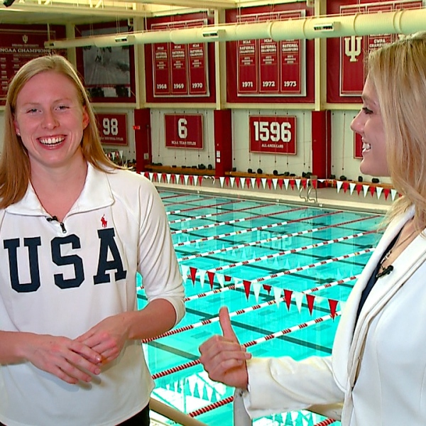 Indiana athlete, Olympic medalist Lilly King talks Tokyo 2020