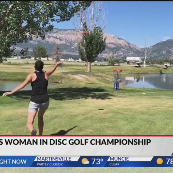 Fishers woman in disc golf championships