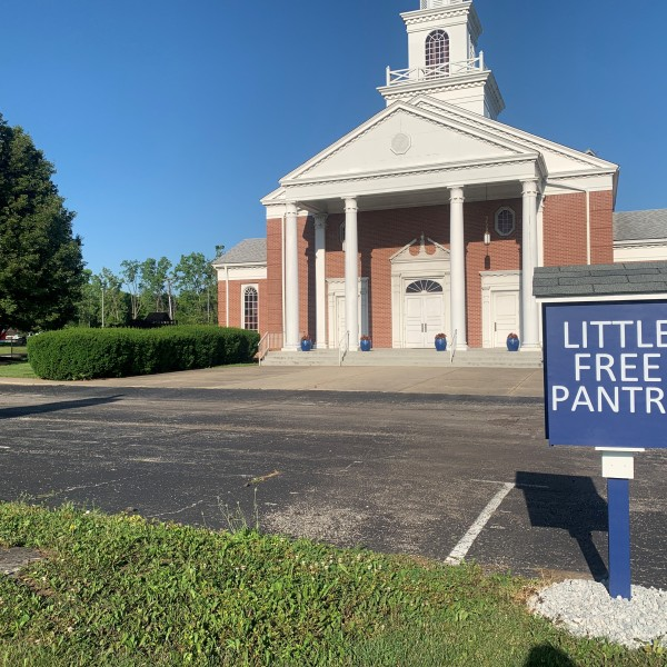 Indianapolis church opens Little Free Pantry to west side neighbors