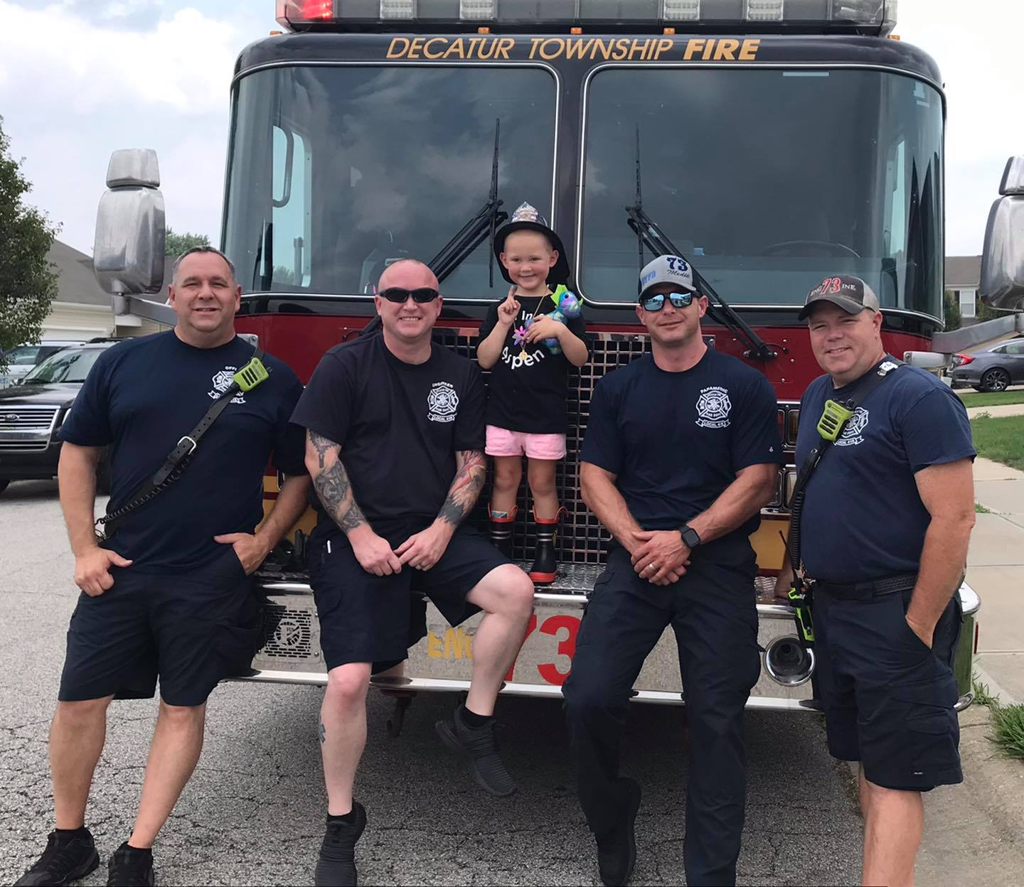 Decatur Township firefighters