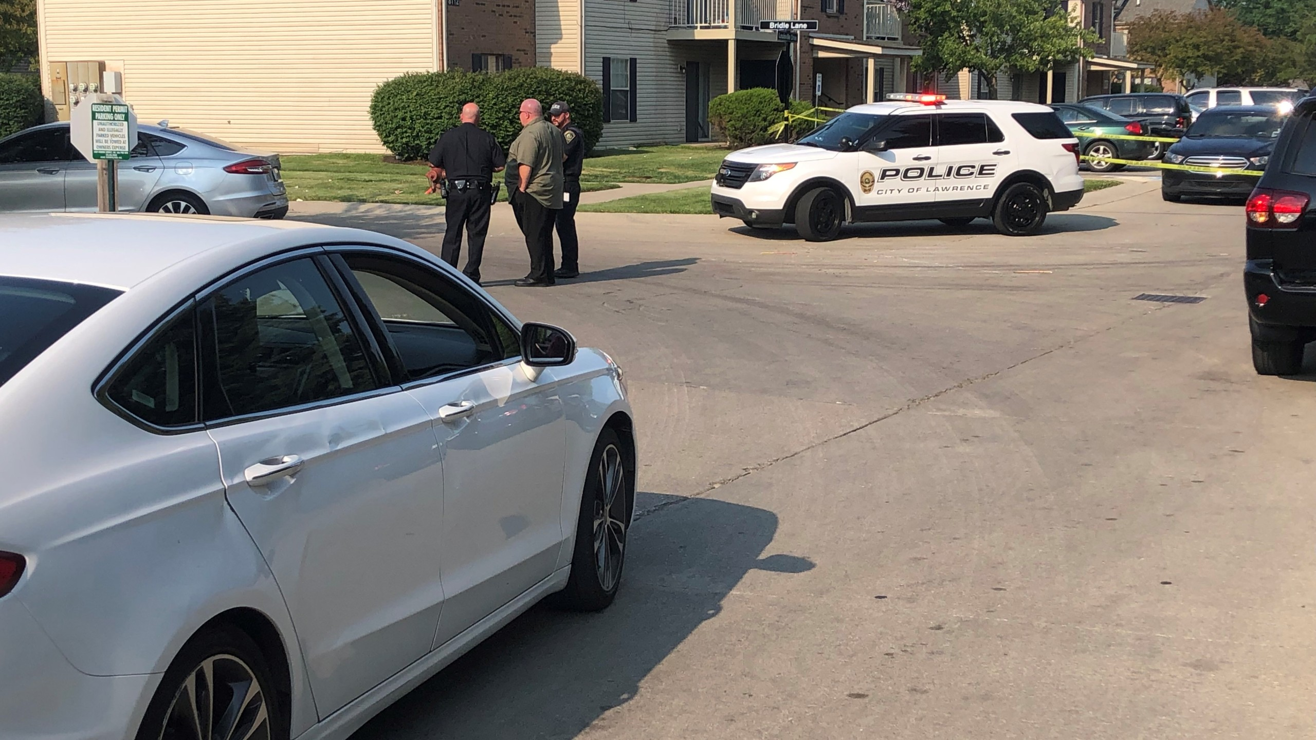 Person in critical condition after being shot in Lawrence