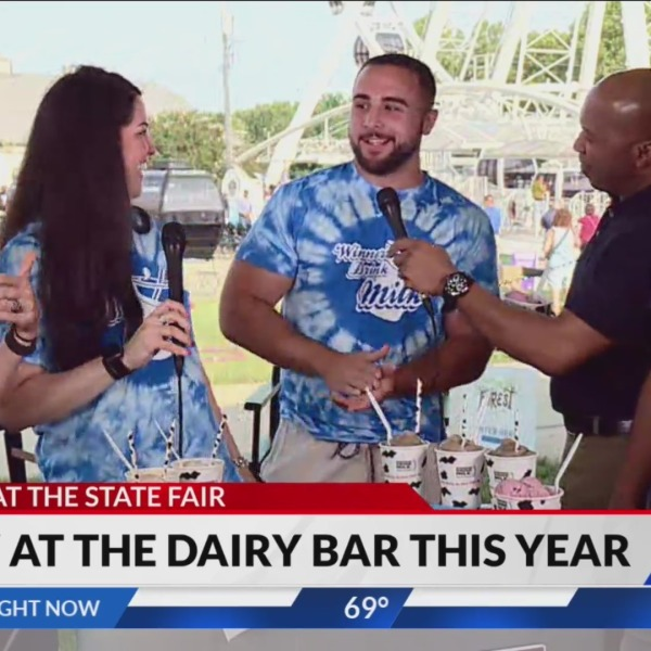 FOX59 at the Indiana State Fair: Dairy Barn