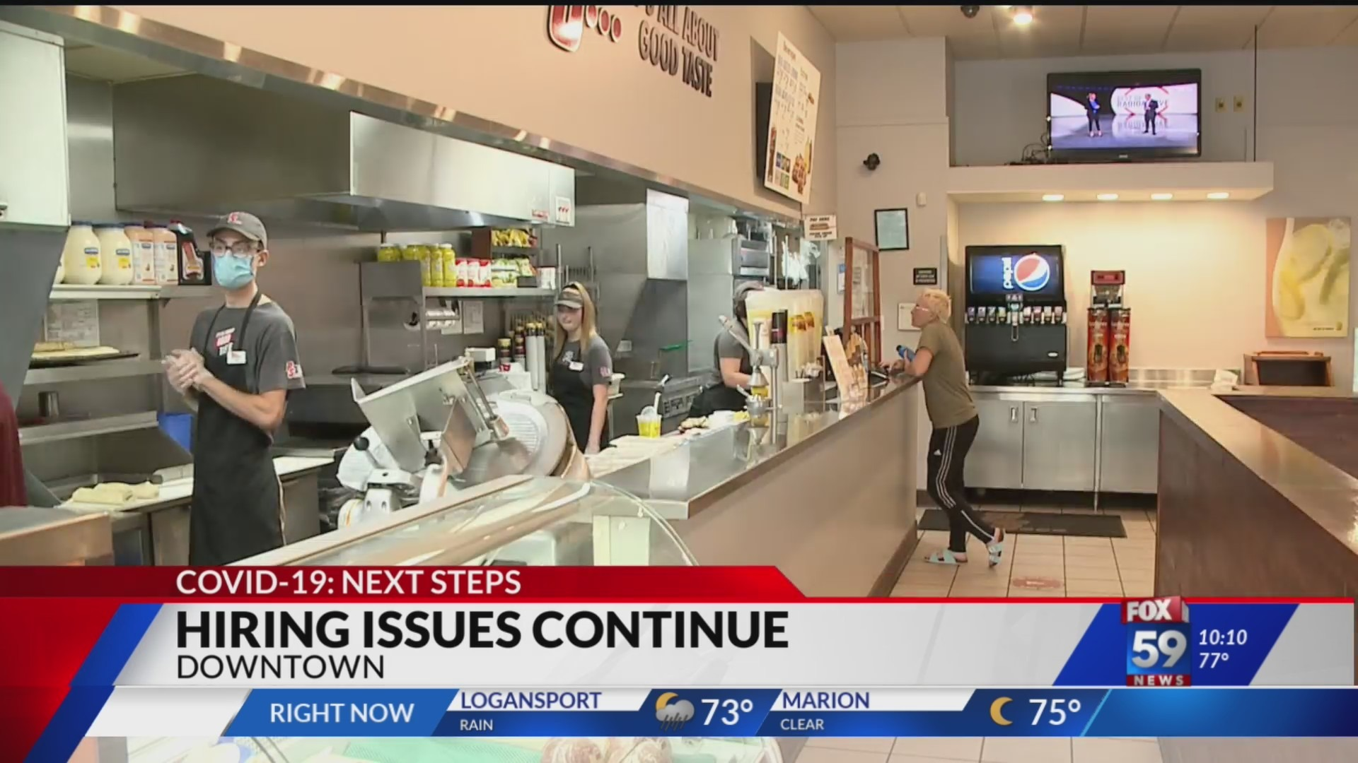 fox59.com - Mike Sullivan - Hiring issues continue to plague Indiana's hospitality industry