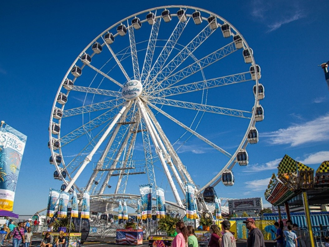 Indiana's largest ferris wheel debuts at the 2021 Indiana State Fair