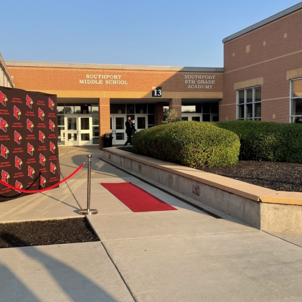 First day of school at Perry Township