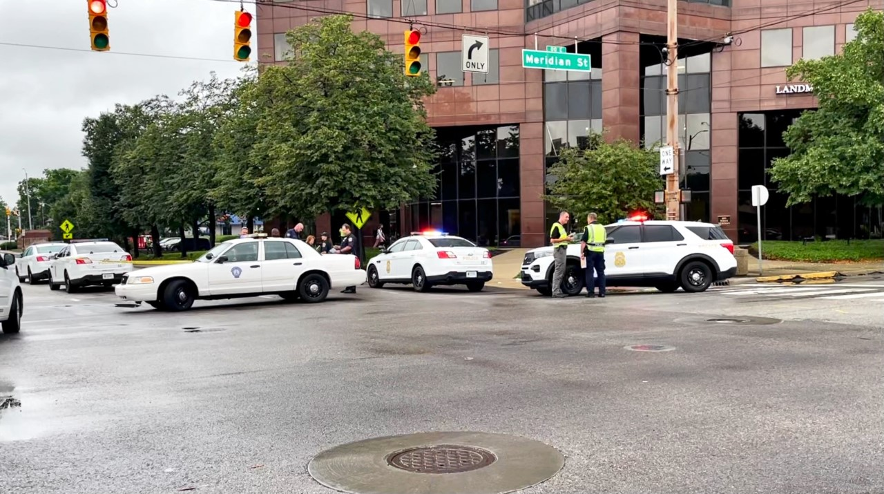 Indianapolis hit-and-run: Woman hurt in crash in downtown Indy