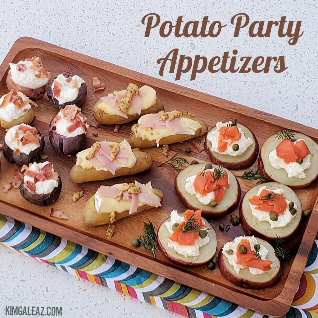 Potato Party Appetizers (Kim Galeaz)