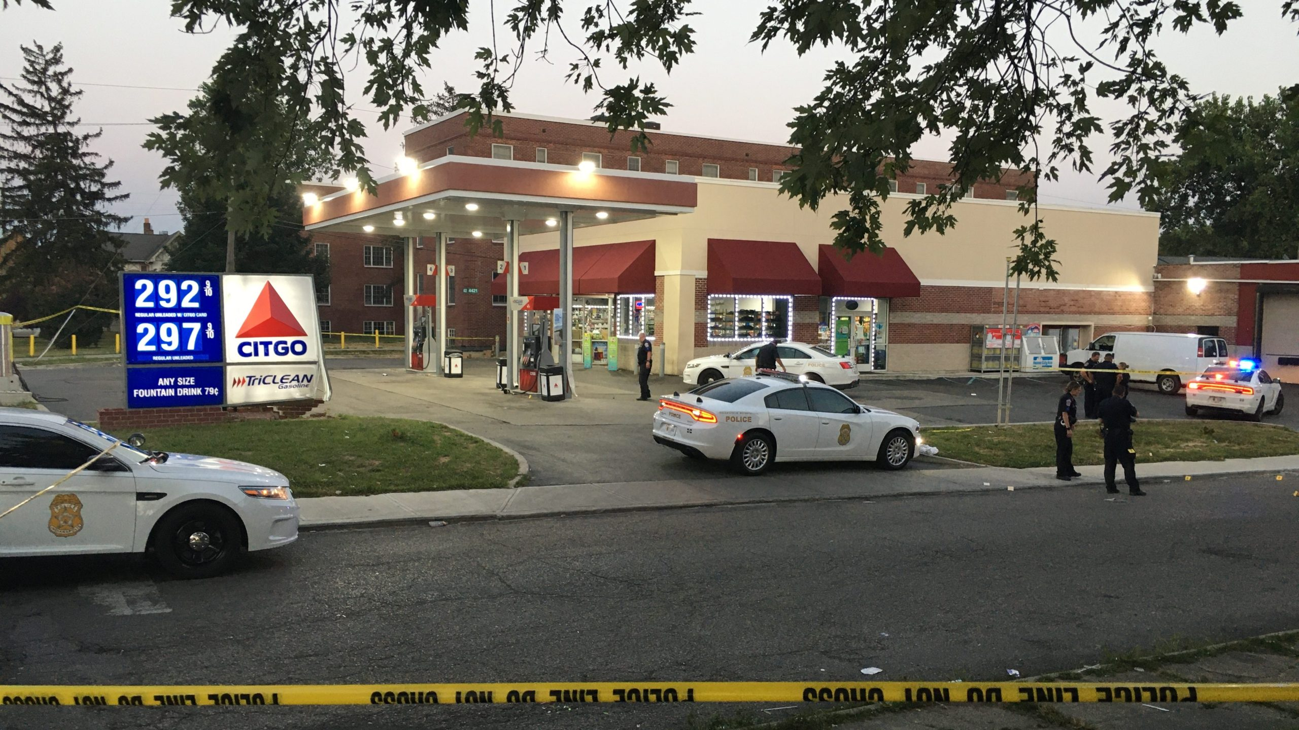 2 shot on east side of Indianapolis