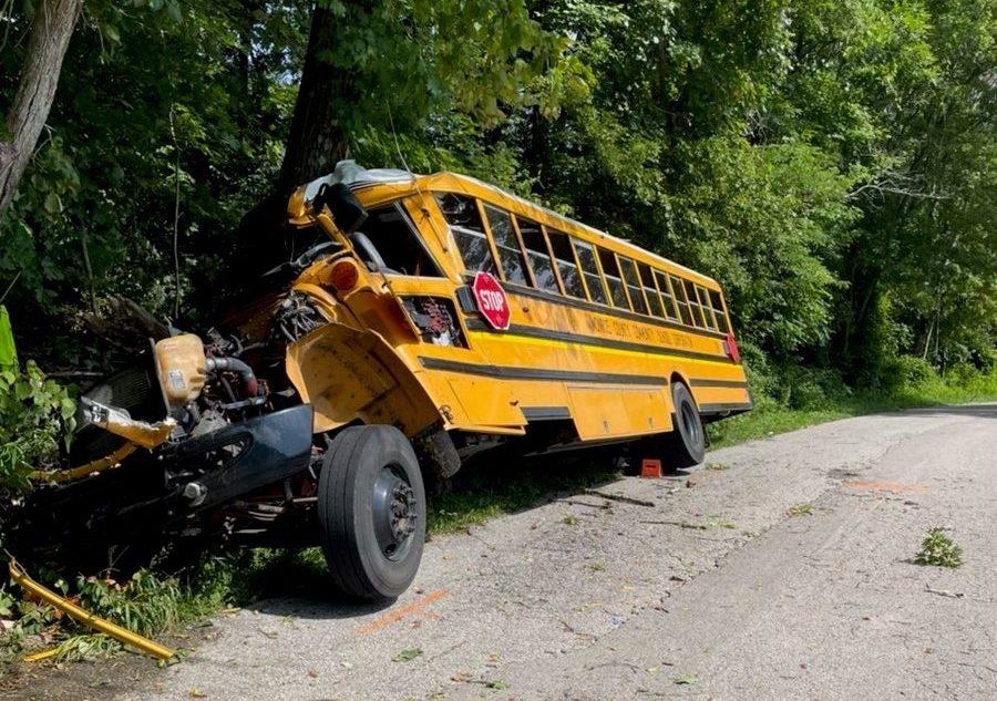 MCCC school bus crash