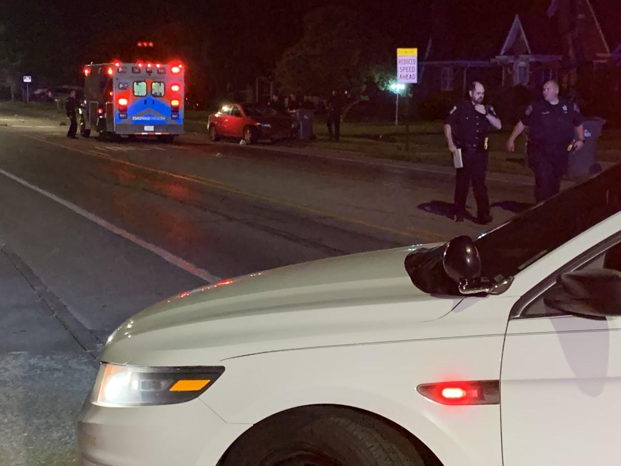 Arlington Ave bicyclist hit