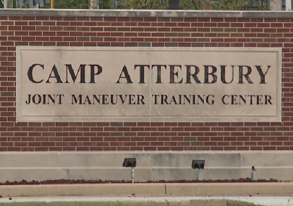camp atterbury sign