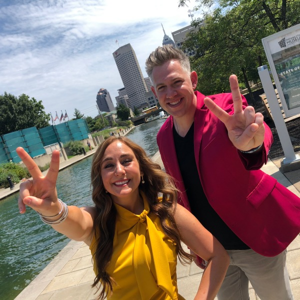 Indy Now hosts Jillian and Ryan
