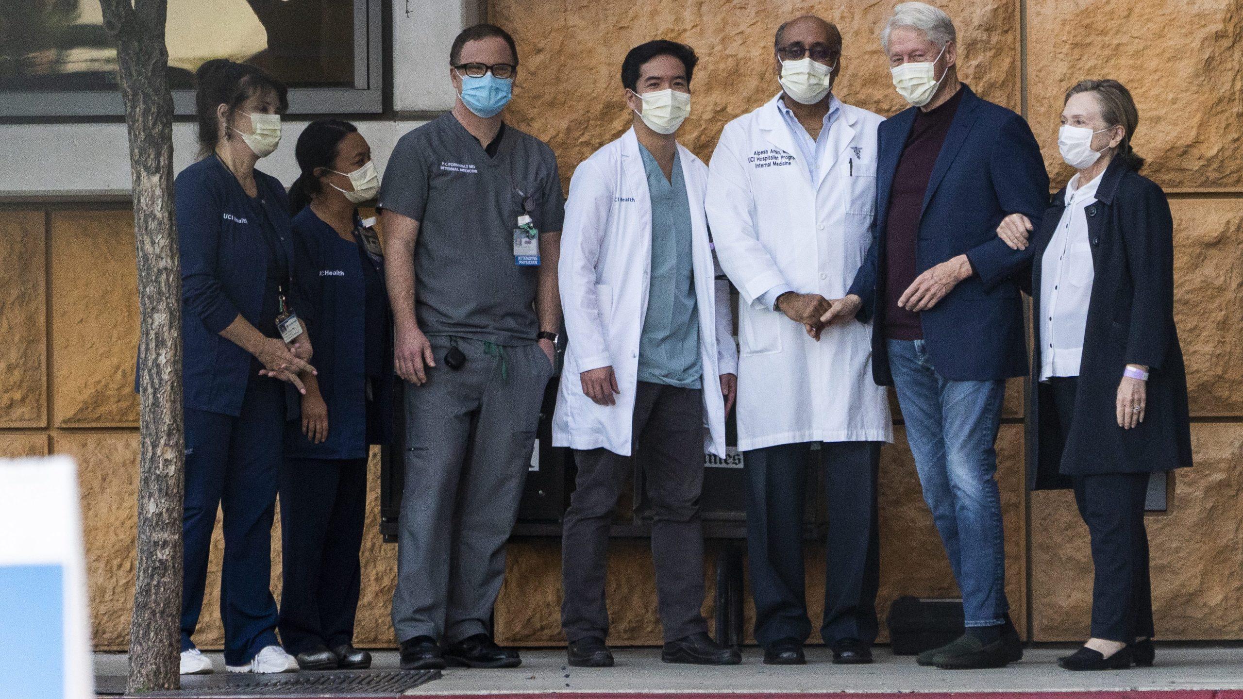 Bill Clinton hospital
