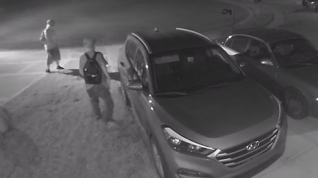 Camby neighborhood on the hunt for suspects connected to string of car break-ins and a vehicle theft