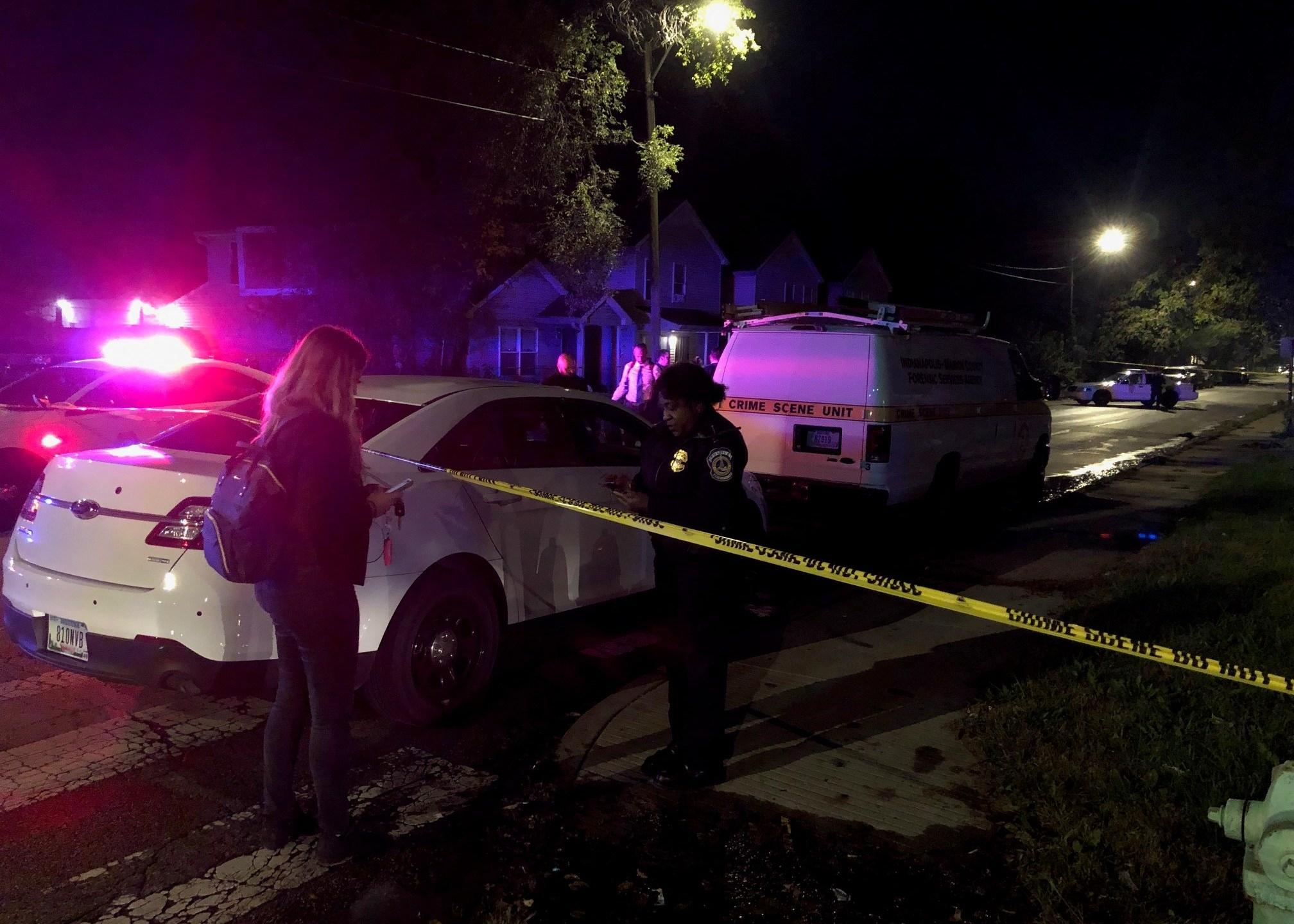 Clifton Street crime scene