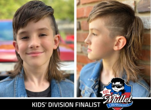 Indy kid in USA Mullet Championship