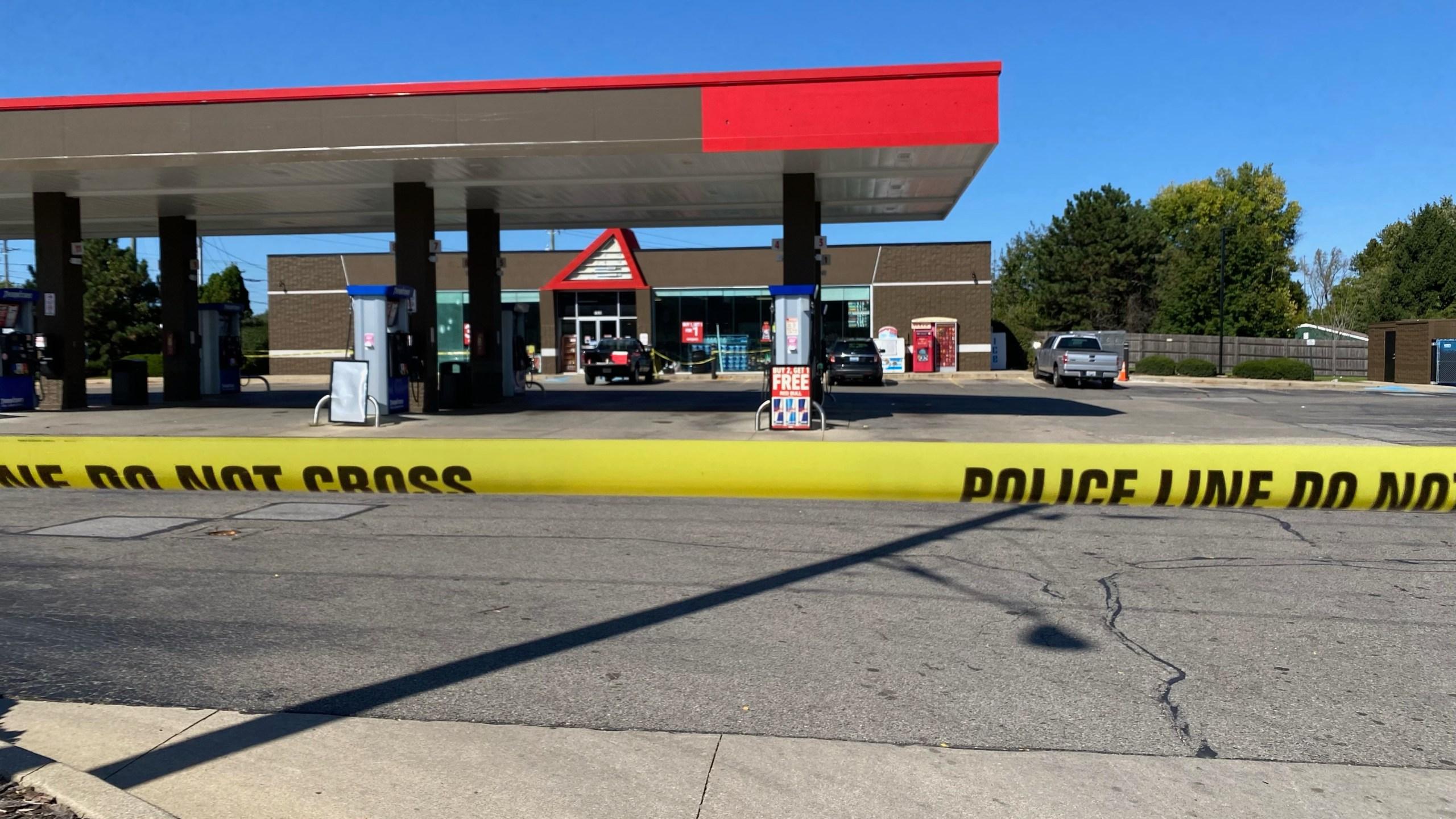 Lawrence gas station shooting
