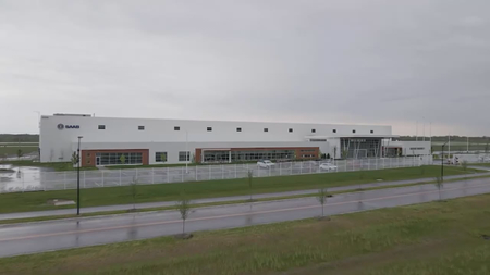 Purdue University Discovery Park Saab facility to build sections of U.S. Air Force training jet