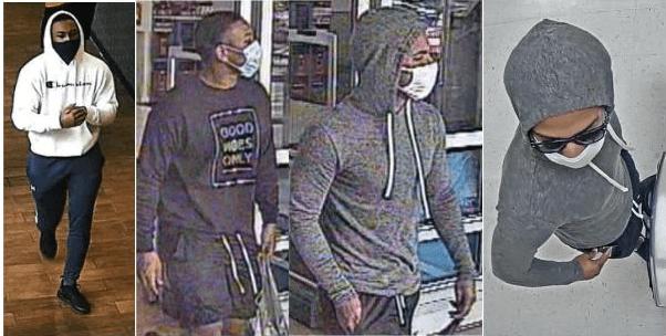 Westfield theft, fraud suspects