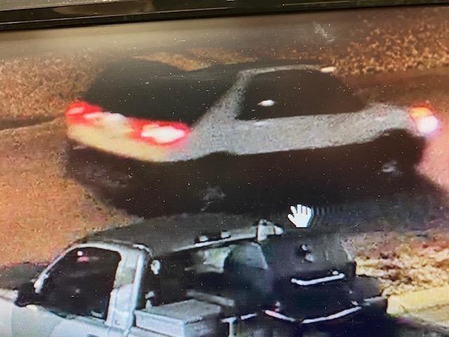 Kokomo Fazoli's armed robbery suspect vehicle