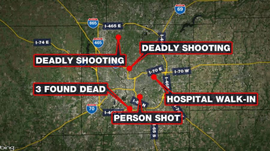 IMPD latest homicides under investigation